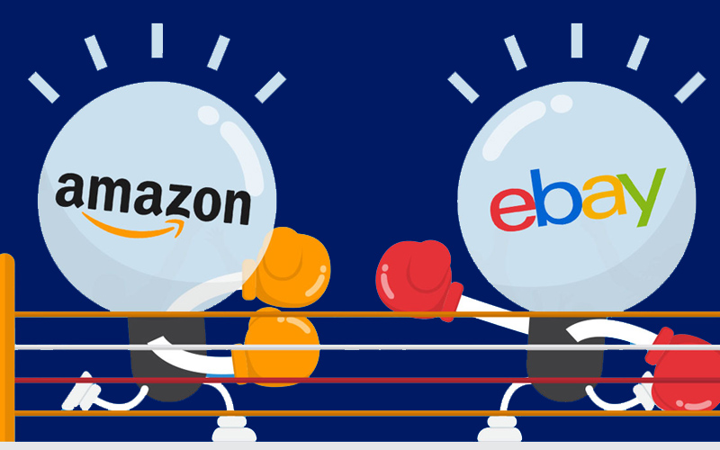 Which Is Good for Selling – Amazon VS eBay - Find eBay Accounts for Sale